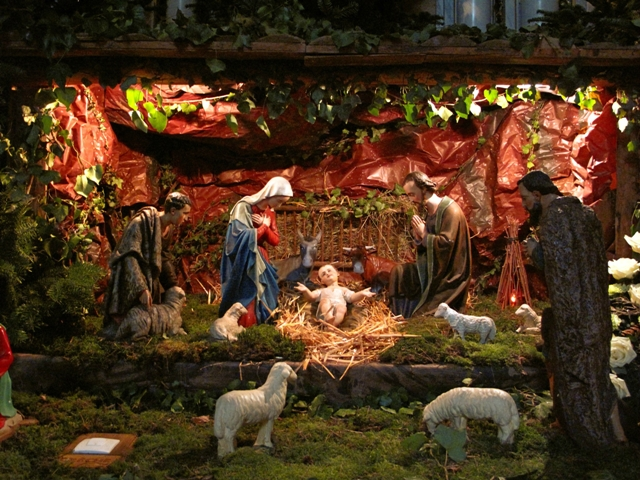 Photo de crèche